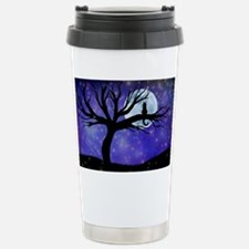 Cosmic Cat Stainless Steel Travel Mug
