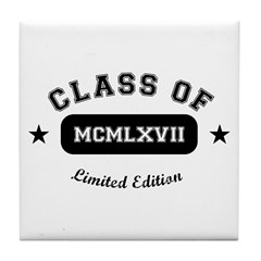 Class of 1967 Tile Coaster