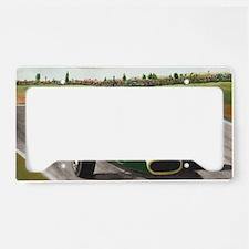Jim Clark 001 License Plate Holder