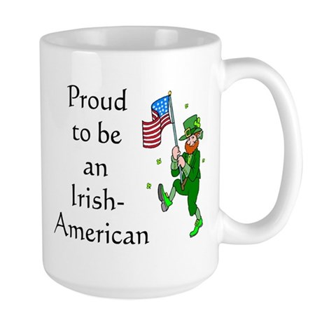 Proud Irish-American Large Mug