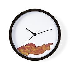 baconpoem Wall Clock