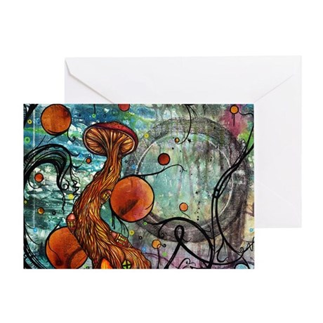 Dwell Shower Curtain Greeting Card