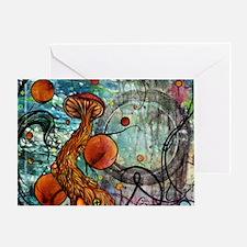 Dwell Shower Curtain Greeting Card