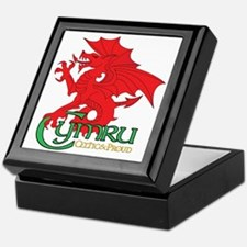 Celtic and Proud Apperal Cymru 2 Keepsake Box