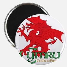 Celtic and Proud Apperal Cymru 2 Magnet