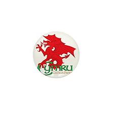 Celtic and Proud Apperal Cymru 2 Mini Button