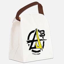AGORIST Logo Canvas Lunch Bag
