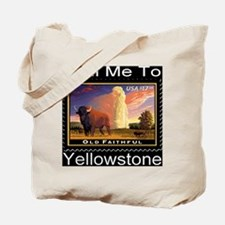 mailmeto_yellowstone_reverse Tote Bag