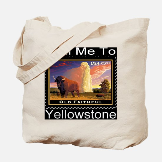 mailmeto_yellowstone_reverse Tote Bag