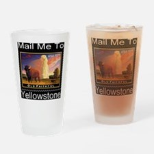 mailmeto_yellowstone_reverse Drinking Glass