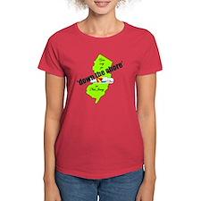 Down the shore Women's Medium color T-Shirt