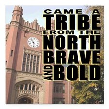 "IdahoTribe7100 Square Car Magnet 3"" x 3"""