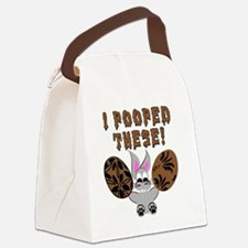 poopedeggs Canvas Lunch Bag