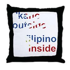 ps_kanoutside_flat Throw Pillow