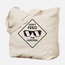 Feed The Hipsters Tote Bag