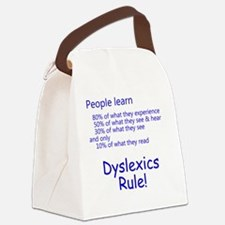 dyslexicsrule Canvas Lunch Bag
