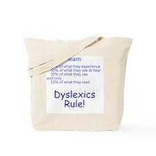 dyslexicsrule Tote Bag