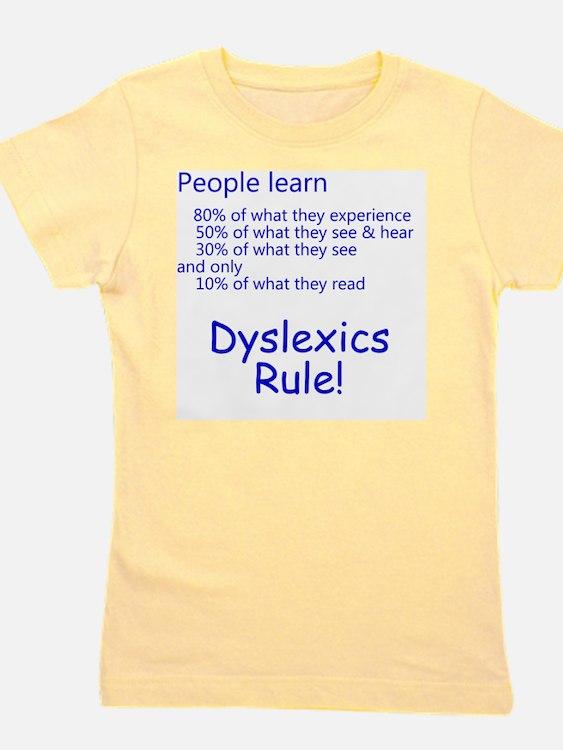 dyslexicsrule Girl's Tee