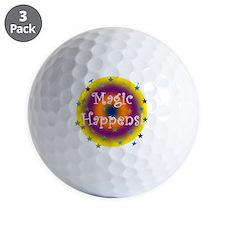 Magic Happens 1 Golf Ball