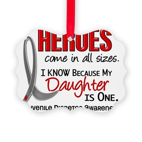 D Heroes All Sizes Daughter Juven Picture Ornament