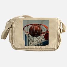 baskertball Messenger Bag