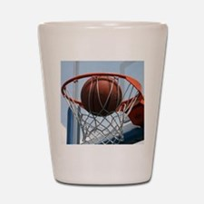 baskertball Shot Glass