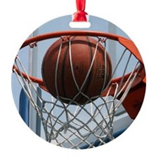 baskertball Ornament