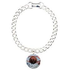 baskertball Charm Bracelet, One Charm