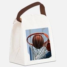 baskertball Canvas Lunch Bag