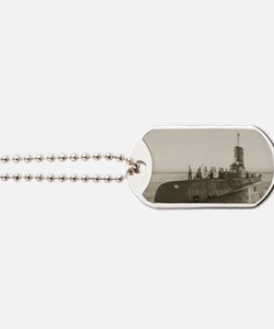 atule agss rectangle magnet Dog Tags