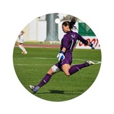 Hope Solo Round Ornament