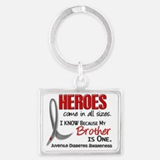 D Heroes All Sizes Brother Juve Landscape Keychain