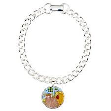 Shower VG Bedroom Charm Bracelet, One Charm