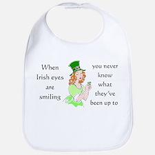 Irish Eyes Bib