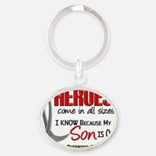 D Heroes All Sizes Son Juvenile Diab Oval Keychain