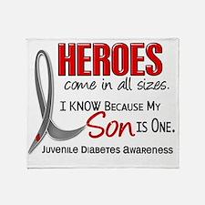 D Heroes All Sizes Son Juvenile Diab Throw Blanket