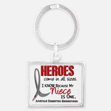 D Heroes All Sizes Niece Juveni Landscape Keychain