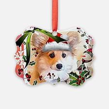 Pembroke Corgi Holiday Ornament