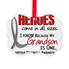 D Heroes All Sizes Grandson Juven Ornament