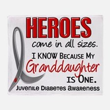 D Heroes All Sizes Granddaughter Juv Throw Blanket