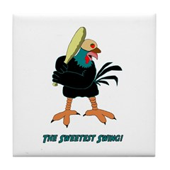Athletic Chicken Tile Coaster