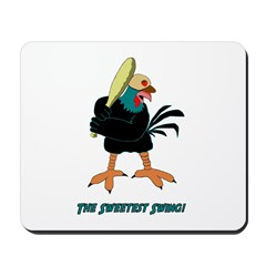 Athletic Chicken Mousepad