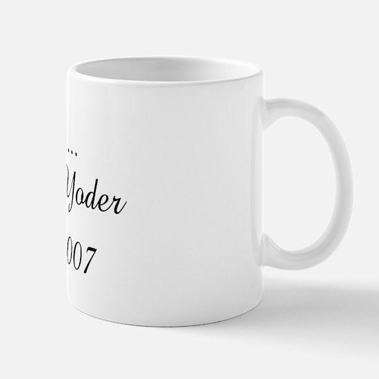 Soon to be......      M Mug