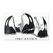 ORCASTRA Trio Rectangle Car Magnet
