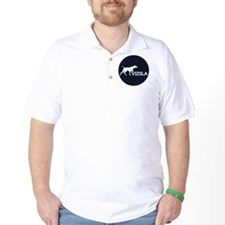 3.66_jacket_silhouetteVIZSLA_blueBG T-Shirt