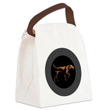 3.66_jacket_rogan_gradient_blackB Canvas Lunch Bag