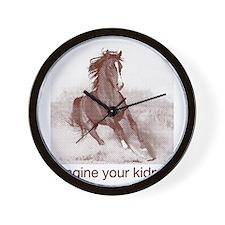 horse_ebooks Wall Clock