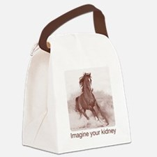 horse_ebooks Canvas Lunch Bag