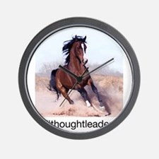 horse_ebooks Wall Clock
