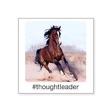 """horse_ebooks Square Sticker 3"""" x 3"""""""